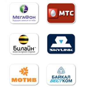 Операторы сотовой связи Орджоникидзевской